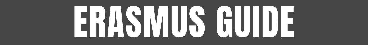 Erasmus Guide